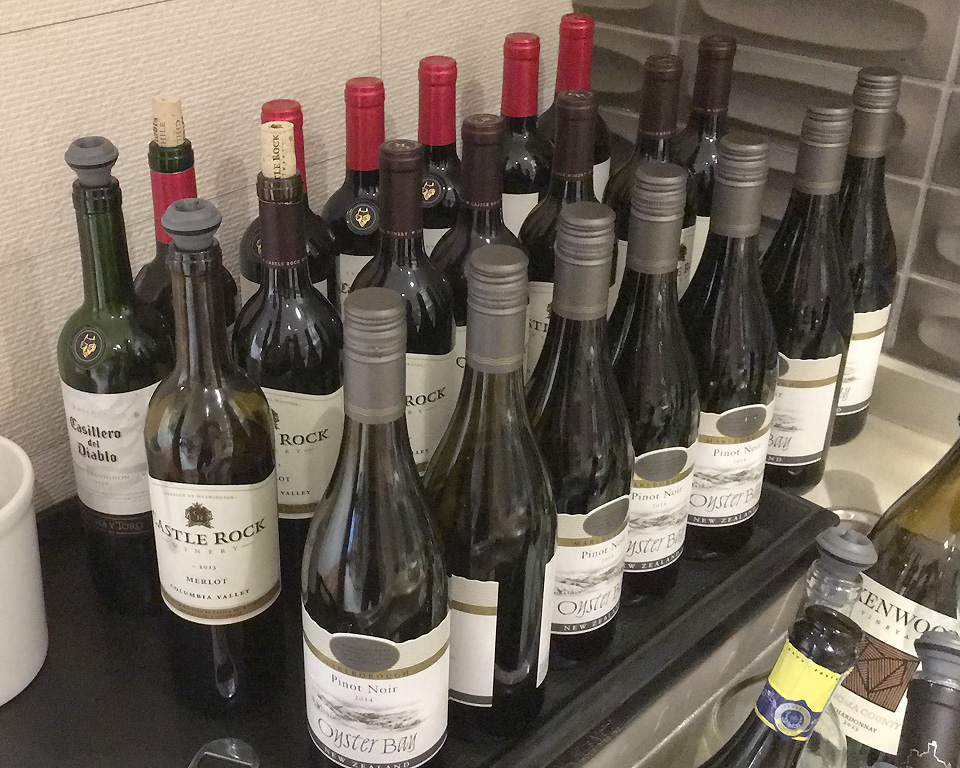 star_alliance_lounge_los_angeles_wine_selection